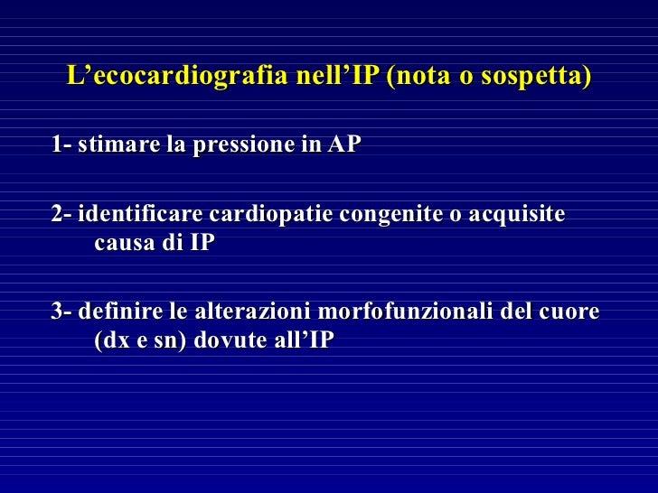Ipertensione Polmonare: classificazione e linee guida