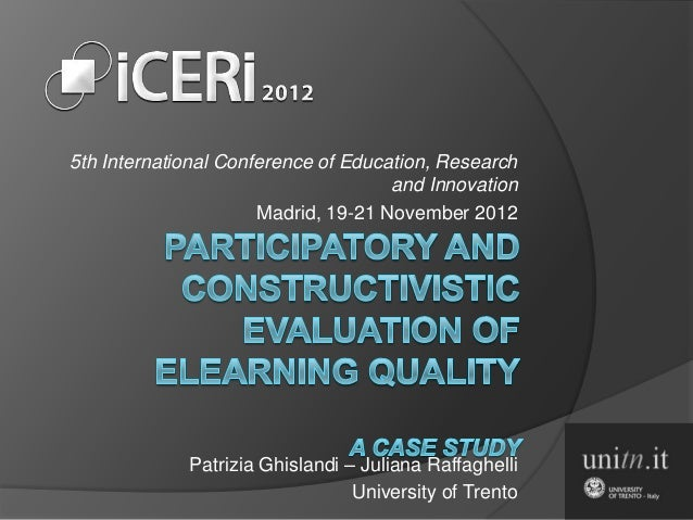 5th International Conference of Education, Research                                     and Innovation                    ...