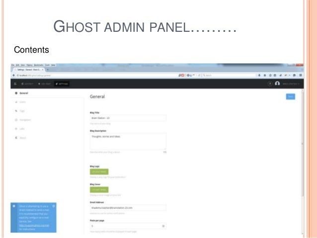 Introduction of Ghost CMSGhost cms