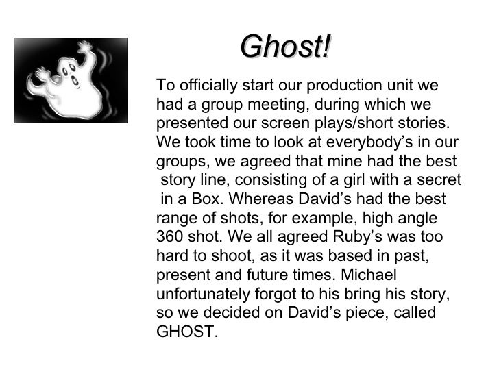 Narrative Writing Lesson Pack 8: Writing a Ghost Story