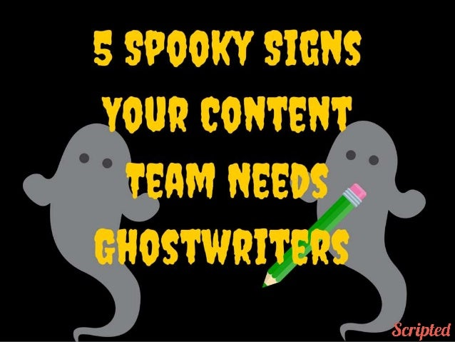 Ghostwriter slideshare