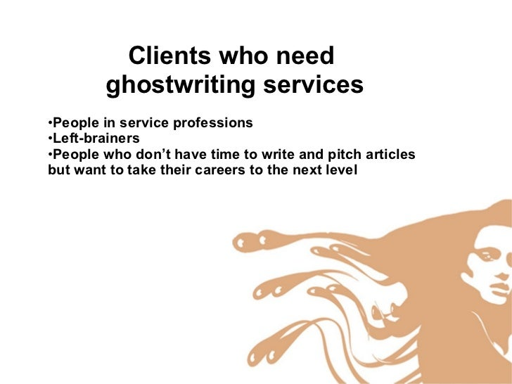 not your average ghost ghostwriting for every writer  11
