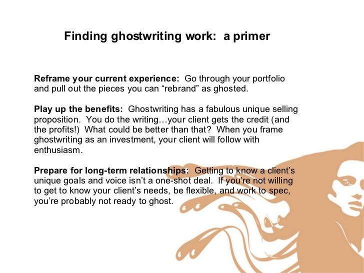 Ghostwriter jura dissertation