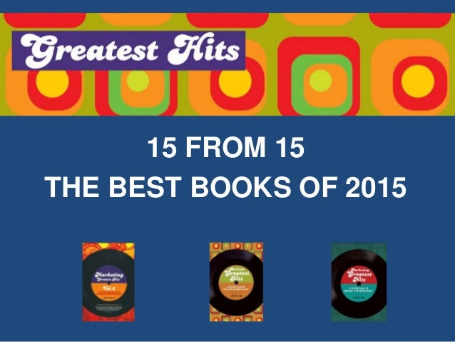 15 FROM 15 THE BEST BOOKS OF 2015