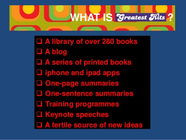 15 FROM 15: THE BEST BOOKS OF 2015 SUMMARISED Slide 2