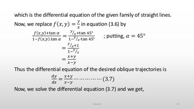 Carbon dating formula derivations