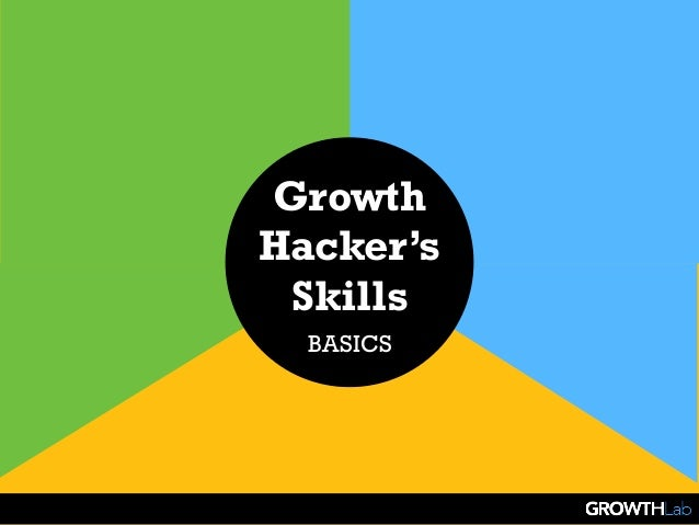 Growth Hacker's Skills