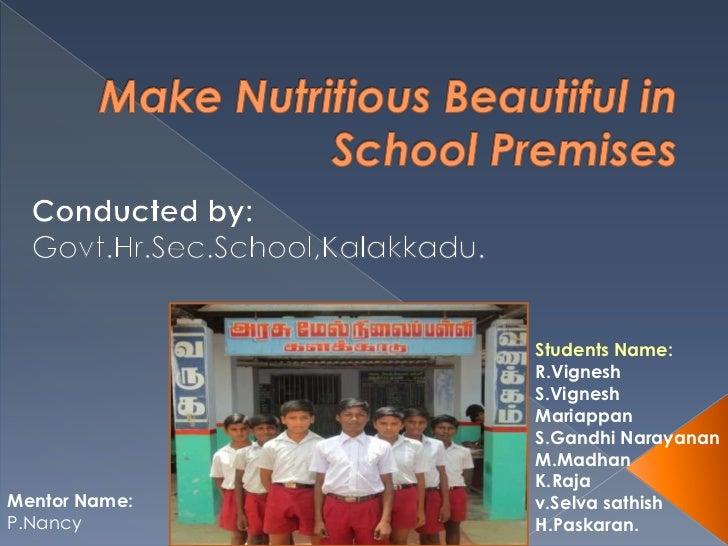 Students Name:               R.Vignesh               S.Vignesh               Mariappan               S.Gandhi Narayanan   ...