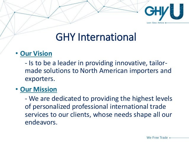 GHY University - Basics of Importing Into Canada