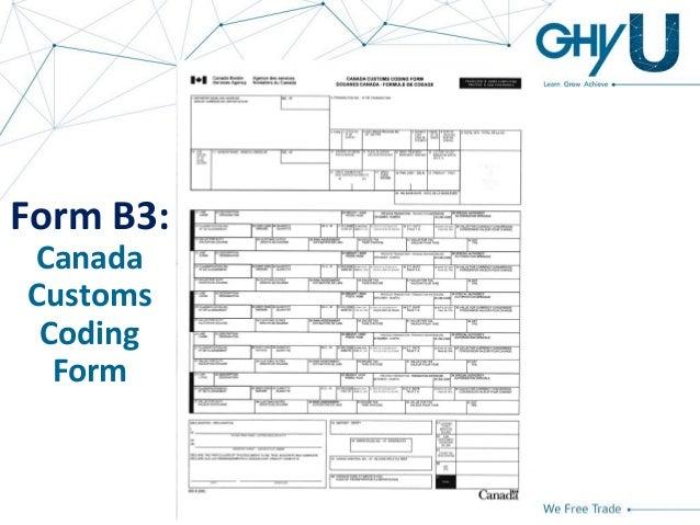 GHY University - Basics of Importing Into Canada