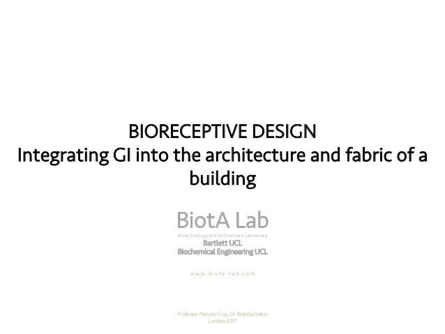 Integrating Gi Into The Architecture And Fabric Of A Building A New