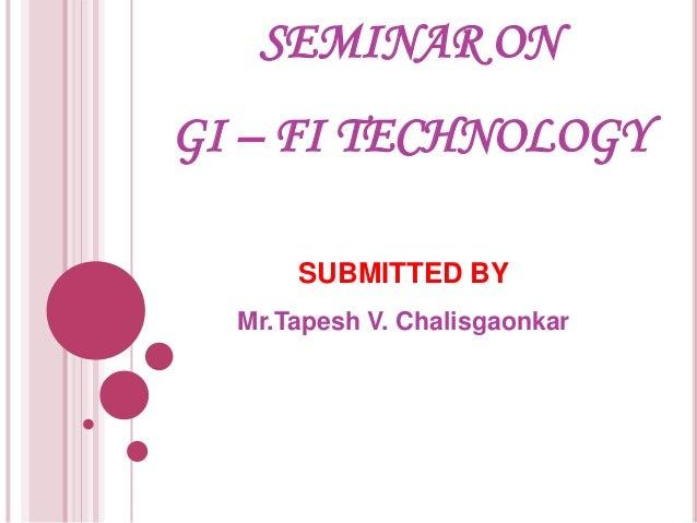Gifi wireless technology