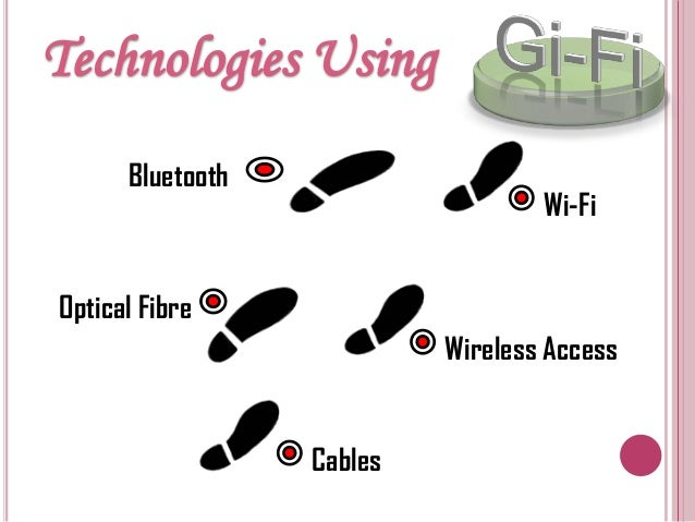 Gi fi technology ppt download for pc.