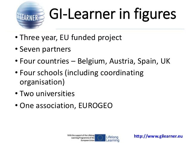 GI Learner: A project to develop geospatial thinking learning lines in secondary schools  Slide 2