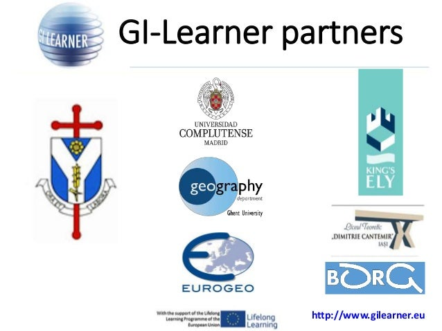 GI Learner: A project to develop geospatial thinking learning lines in secondary schools  Slide 3