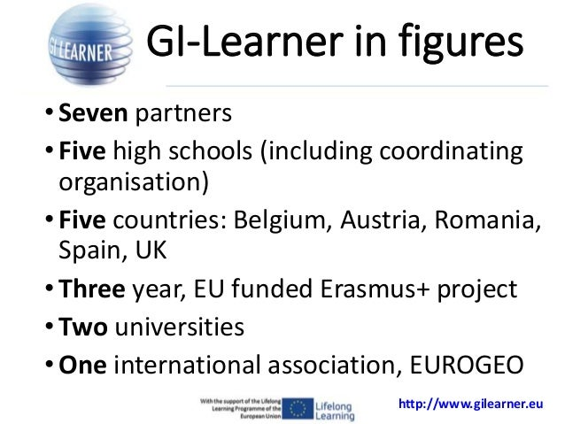 Learning lines for geoSpatial thinking: GI Learner Project Slide 2