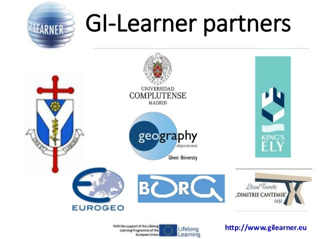 Learning lines for geoSpatial thinking: GI Learner Project Slide 3