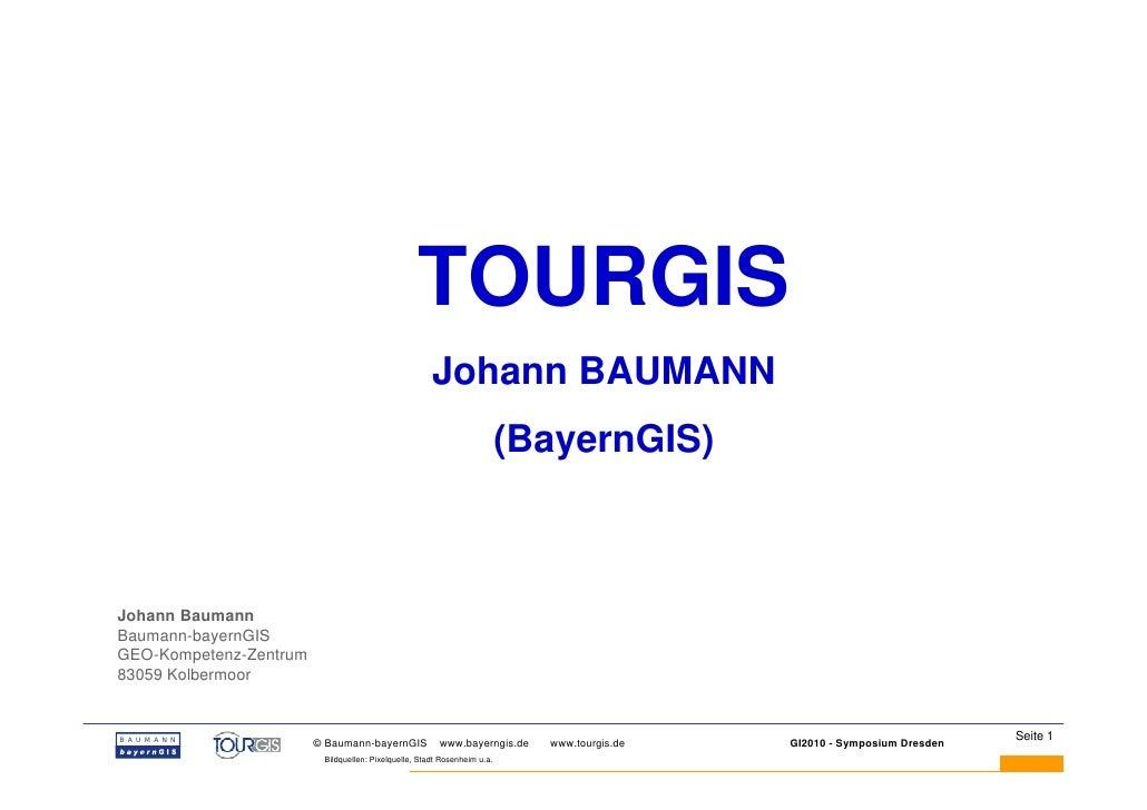 TOURGIS                                                      Johann BAUMANN                                               ...