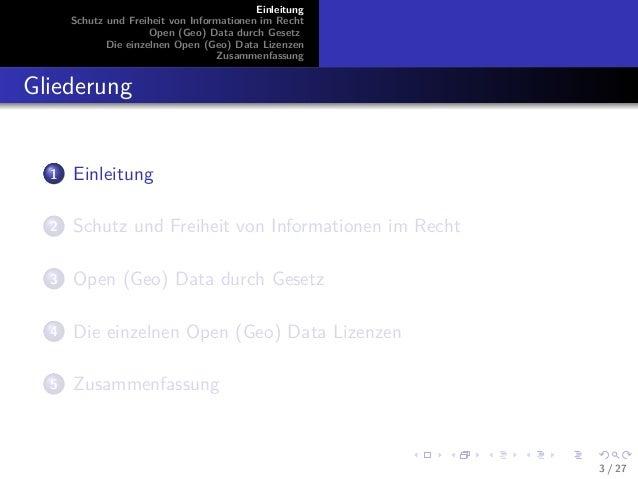 GI2014 ppt zscheile zscheile_freie_lizenzierung_von_geodaten_praesentation Slide 3