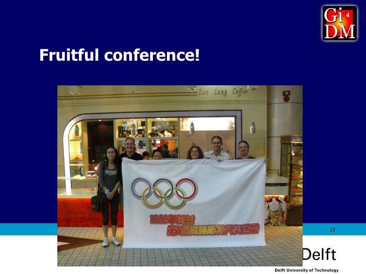 Fruitful conference!