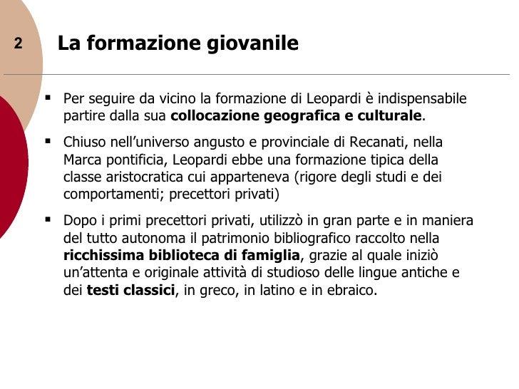Giacomo leopardi Slide 2