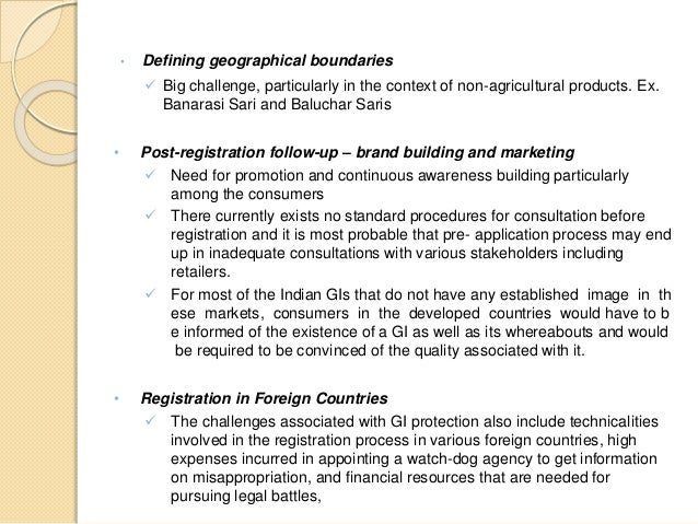 geographical indications in wto on developing The economics of geographical indications (gis) is assessed within a vertical  product differentiation framework  development at iowa state university, and of  the us department of agriculture  agreement of the world trade organization.