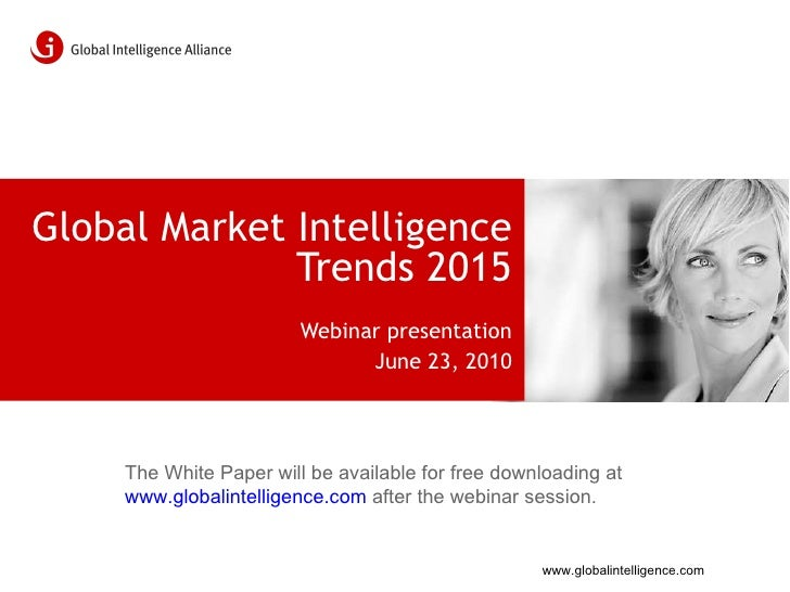 MI Trends 2015 – The Future of Market Intelligence