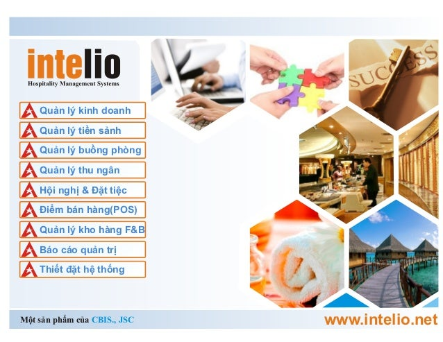 Giải pháp quản lý Khách sạn, Resort Intelio, đa chức năng