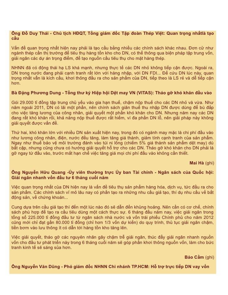 Ông Đỗ Duy Thái - Chủ tịch HĐQT, Tổng giám đốc Tập đoàn Thép Việt: Quan trọng nhấtlà tạocầuVấn đề quan trọng nhất hiện nay...