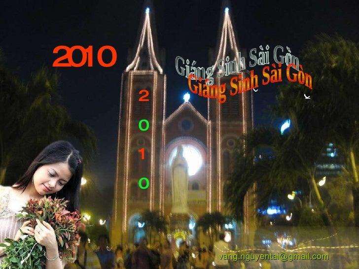 Giáng Sinh Sài Gòn 2010 2 0 1 0 [email_address]