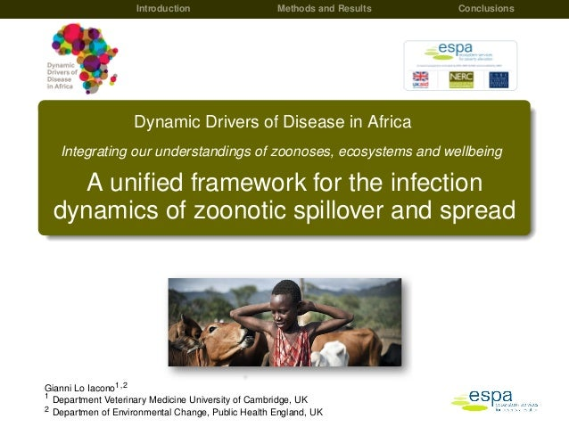 Introduction Methods and Results Conclusions Dynamic Drivers of Disease in Africa Integrating our understandings of zoonos...