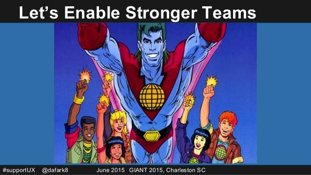 Giant 2015: CTRL Z, A Practitioner's Support Group