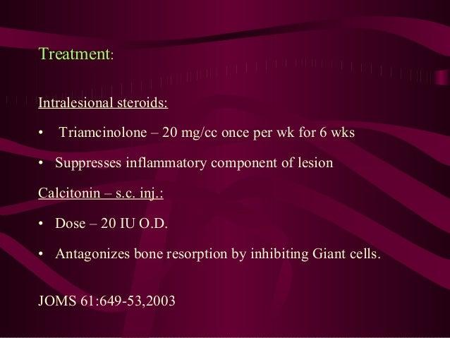 α-Interferon – s.c. inj.: • Dose – 30 lac IU O.D. • Suppresses angiogenic component of lesion. Surgical: • Curettage • Enu...