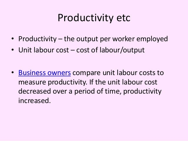 What Affects Labor Costs?