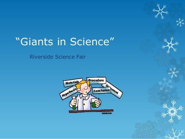 Giants in science