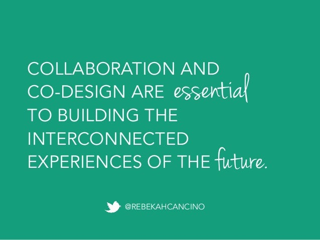 Next-Level Collaboration: the Future of Content and Design   GIANT CONF 2015