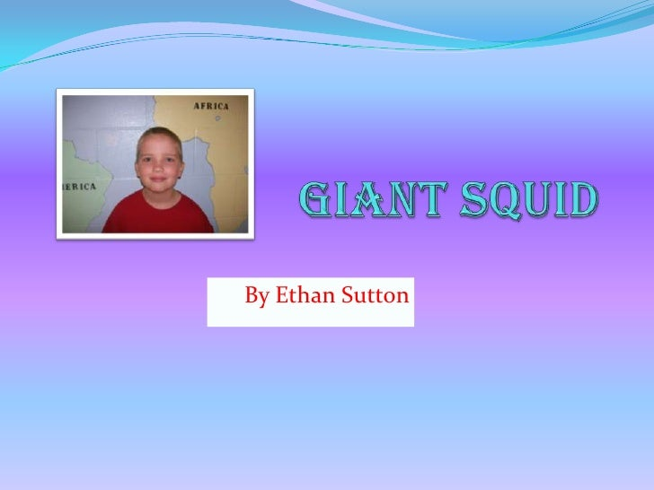 Giant Squid<br />By Ethan Sutton<br />