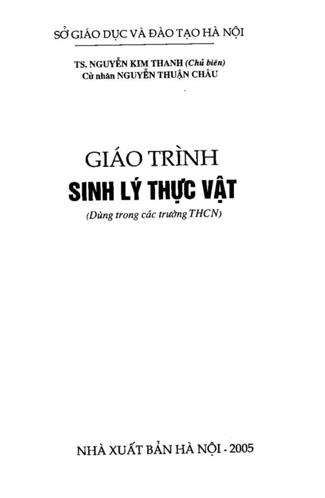 Giao trinh-sinh-ly-thuc-vat-nguyenkimthanh Slide 2