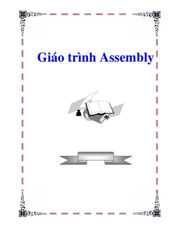 Giao trinh assembly