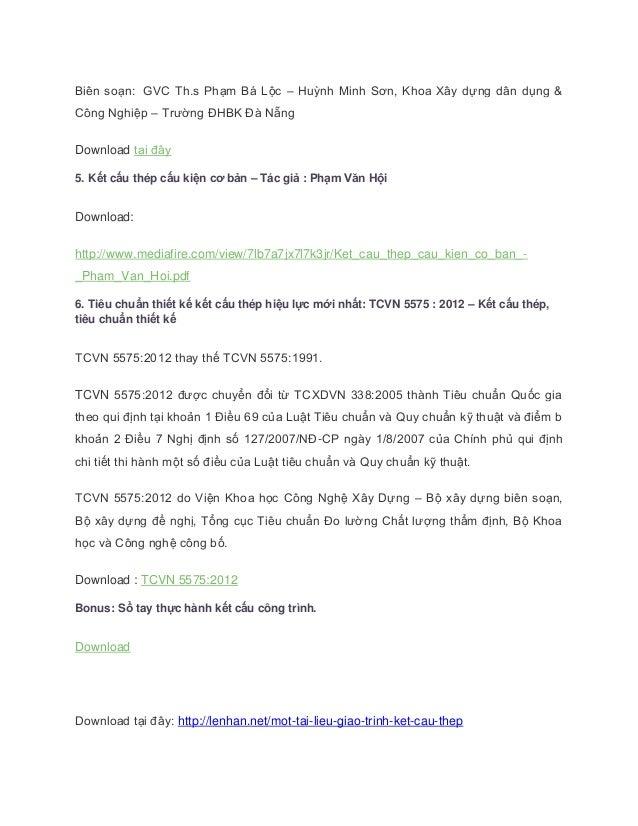 Giao trinh ket cau thep tong hop 2014 Slide 2
