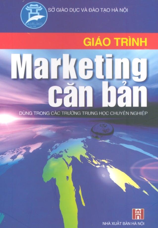 Giao trinh maketing can ban