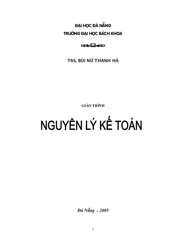 ÂAÛI HOÜC ÂAÌ NÀÔNGTRÆÅÌNG ÂAÛI HOÜC BAÏCH KHOA ThS. BUÌI NÆÎ THANH HAÌ        GIAÏO TRÇNH      Âaì Nàông - 2005          ...