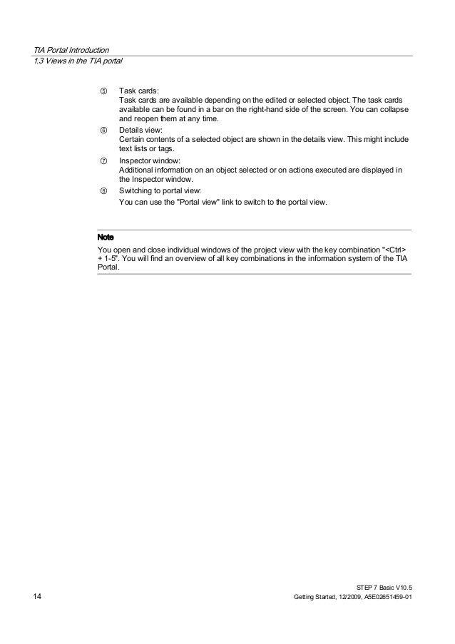 TIA Portal STEP 7 Basic