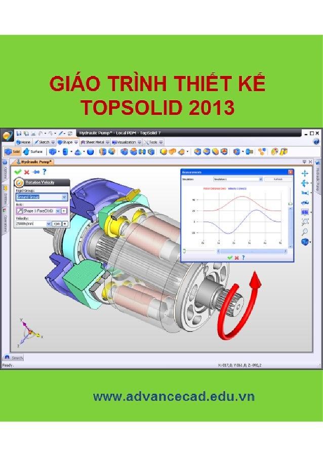 TRUNG TÂM CÔNG NGHỆ ADVANCECAD 1 www.advancecad.edu.vn-www.cachdung.com Mục lục 1 Môi trường làm việc trong Topsolid.........