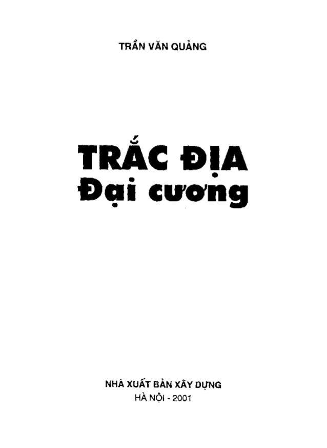 Giáo trình trắc địa đại cương - Trần Văn Quảng