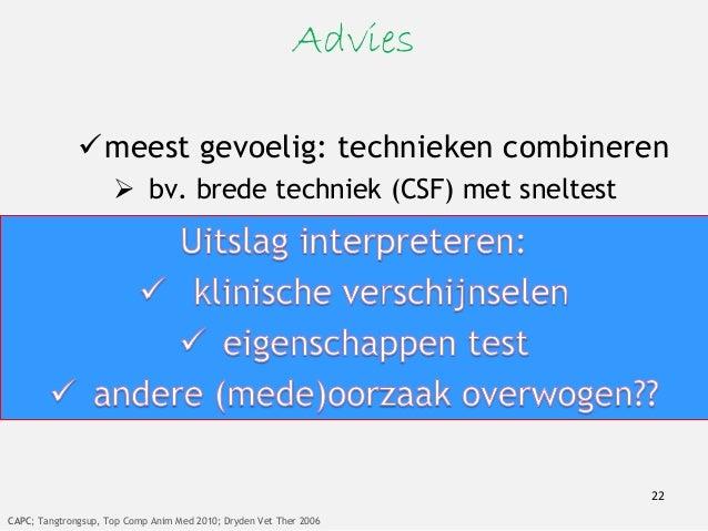 Therapie Geregistreerd in Nederland voor honden:  fenbendazol  metronidazol 23