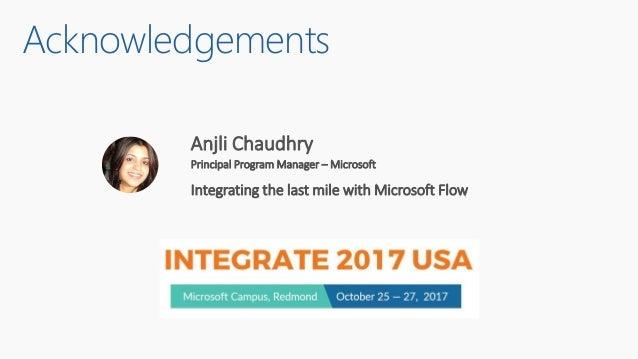Microsoft Flow (by Susie Moore) Slide 3
