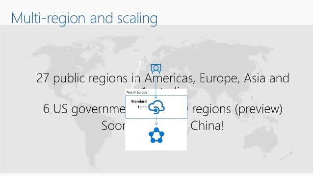 Multi-region and scaling