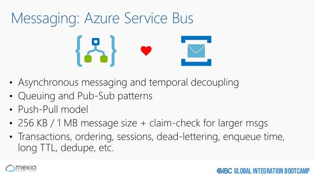 Global Integration Bootcamp Messaging: Azure Service Bus