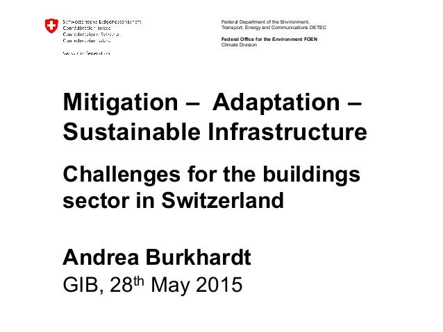 GIB2015_Climate mitigation, Adaptation and Infrastructure